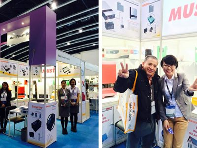 MUST POWER LIMITED attend the 2015 Hong Kong Electronics