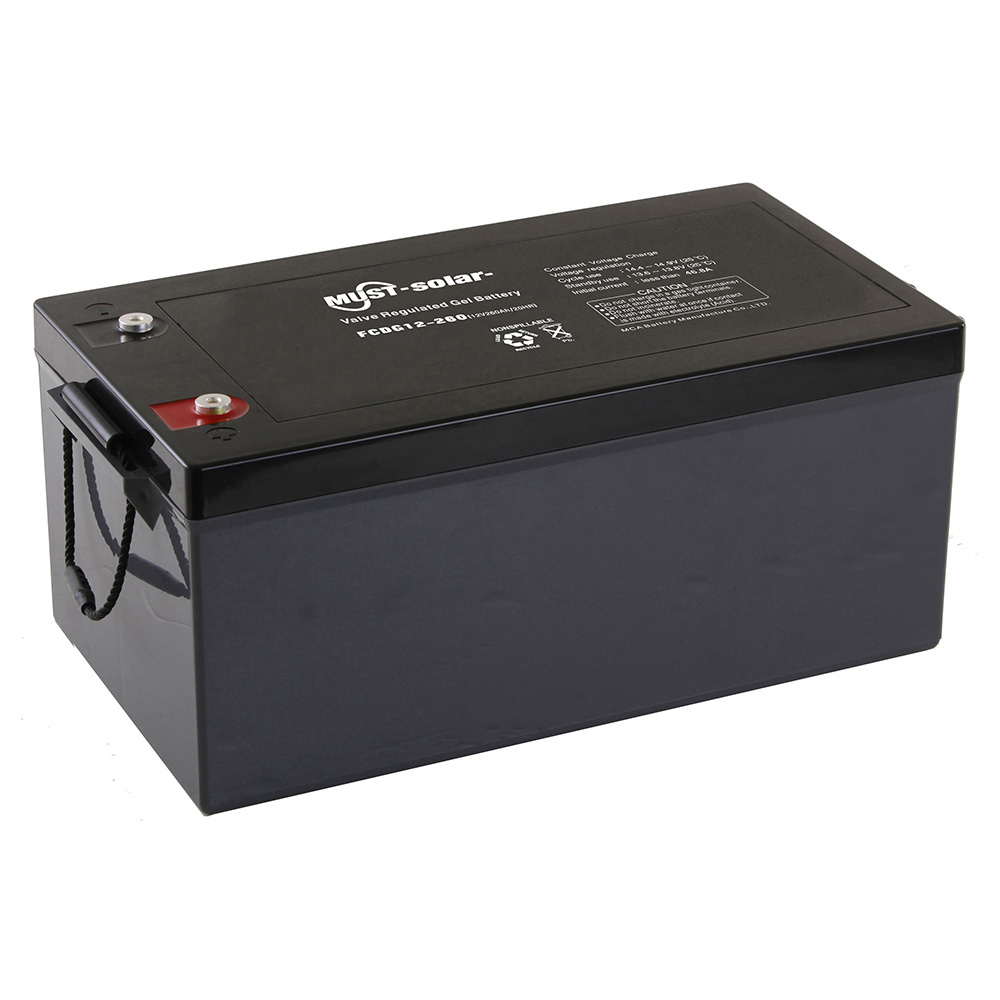 Solar Batteries Deep Cycle Gel Vrla Battery Fcdg Series 6v