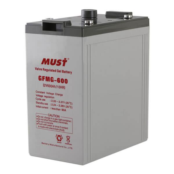 Long Life Gel Sealed Lead Acid Battery GFMG Series 2V