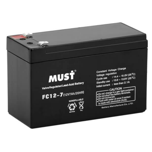 Sealed Lead Acid AGM Battery FC Series 12V