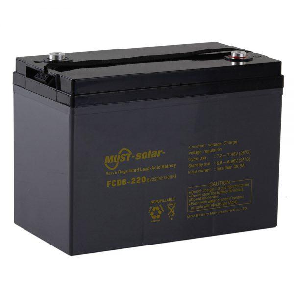 Deep Cycle AGM VRLA Battery FCD Series 6V,12V