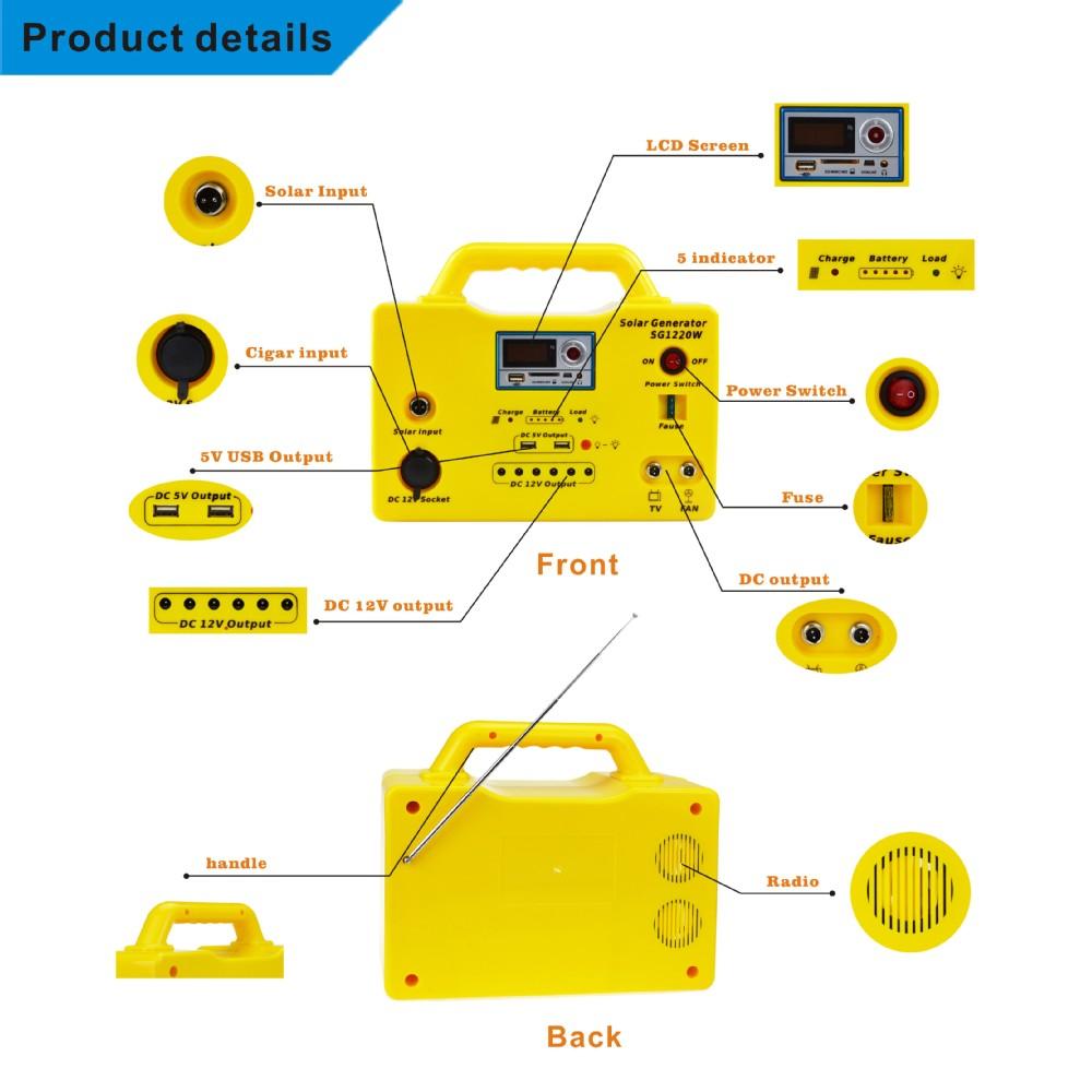 Energy Portable Solar System