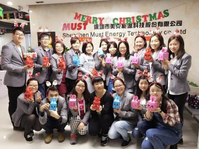 MUST ENERGY TEAM Celebrate Christmas 2015- A lovely Party