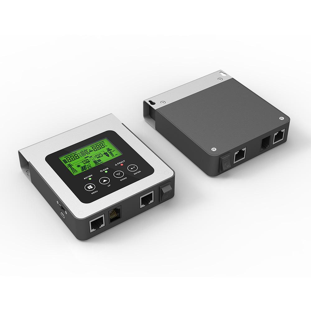 Remote control panel design
