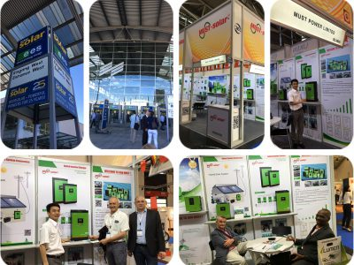 MUST 's Great Achievement in Inter Solar Europe 2016