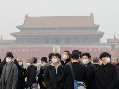 China Smog: Red alerts shut down factories