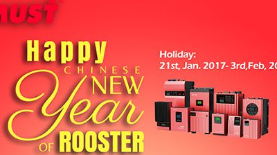 The Year of Rooster Holiday: 21st, Jan. 2017 – 3rd, Feb. 2017