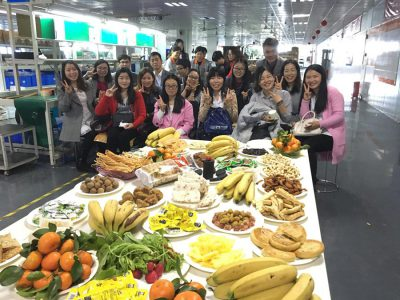 Shenzhen China Feb.6th MUST ENERGY hold Tea Party and Food Festival!