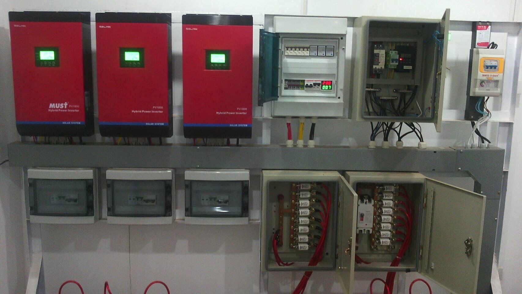 Case Pv1800 Mpk Series Solar Inverter Installation