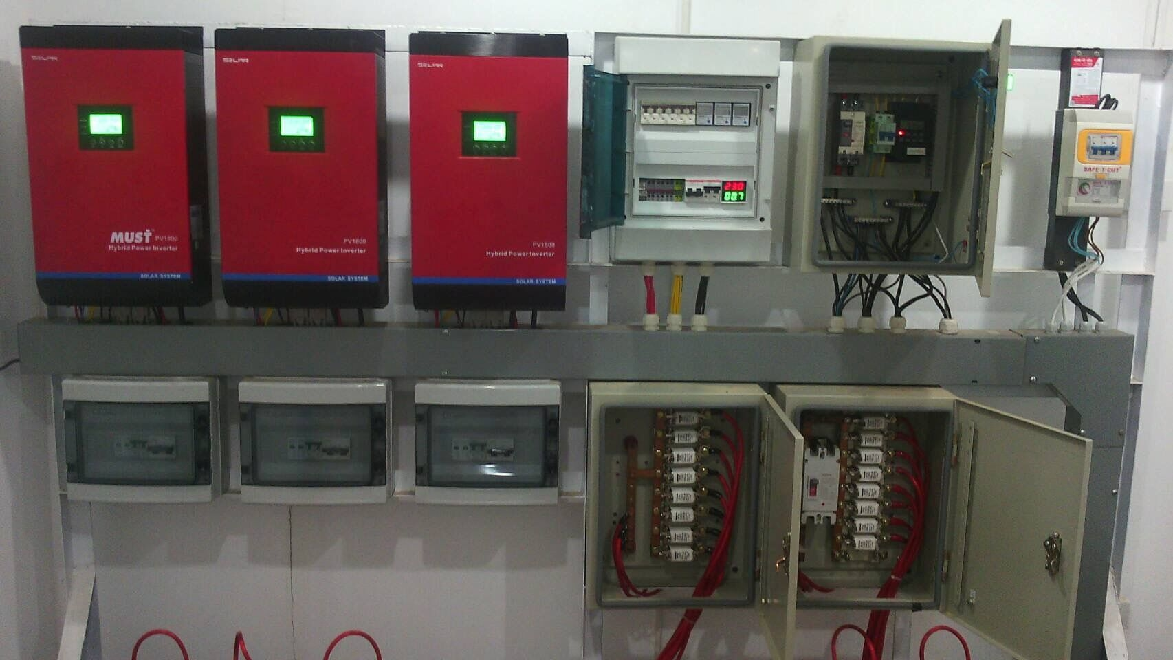 PV1800 MPK Series Solar Inverter Installation Portfolio