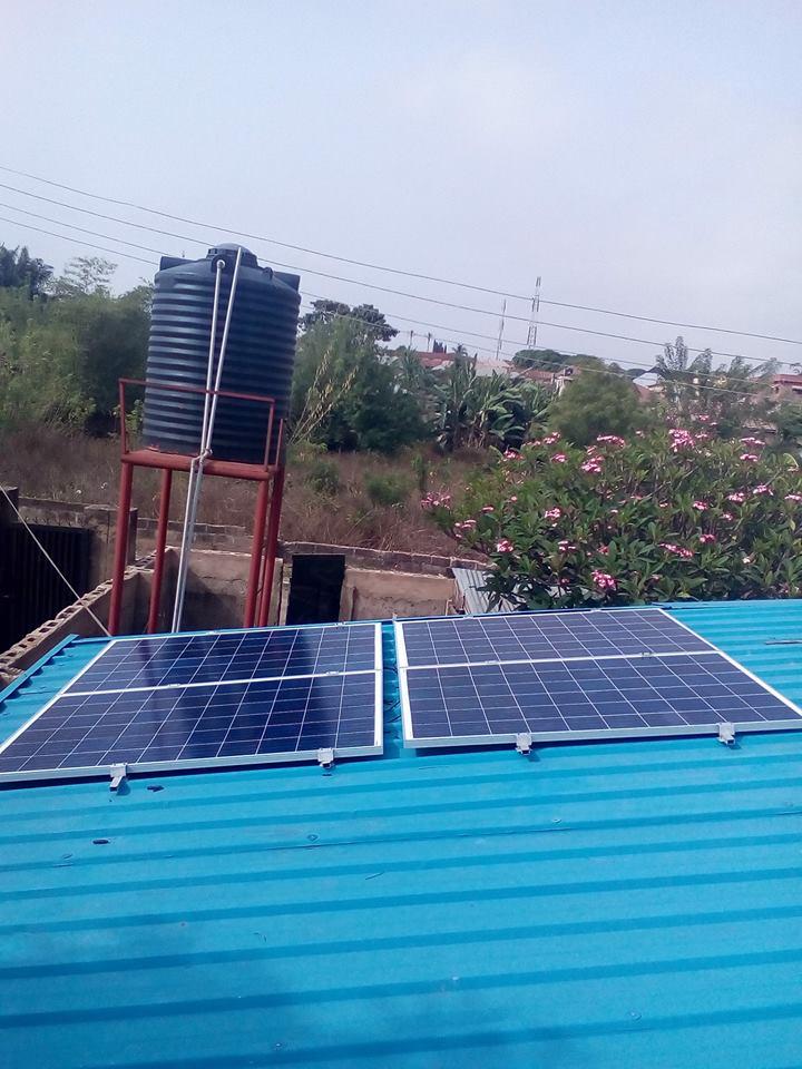 800W Solar Power Home System