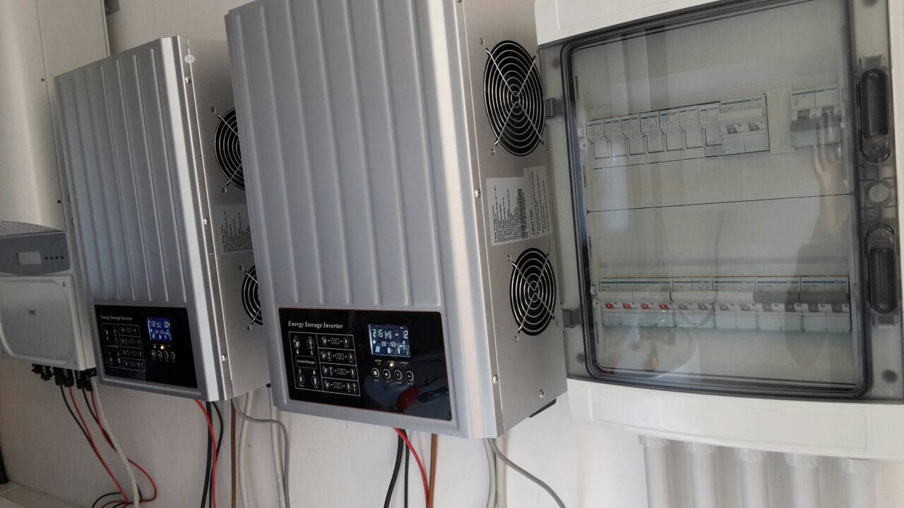 PH3000 Series Hybrid Solar Inverter Installation Portfolio