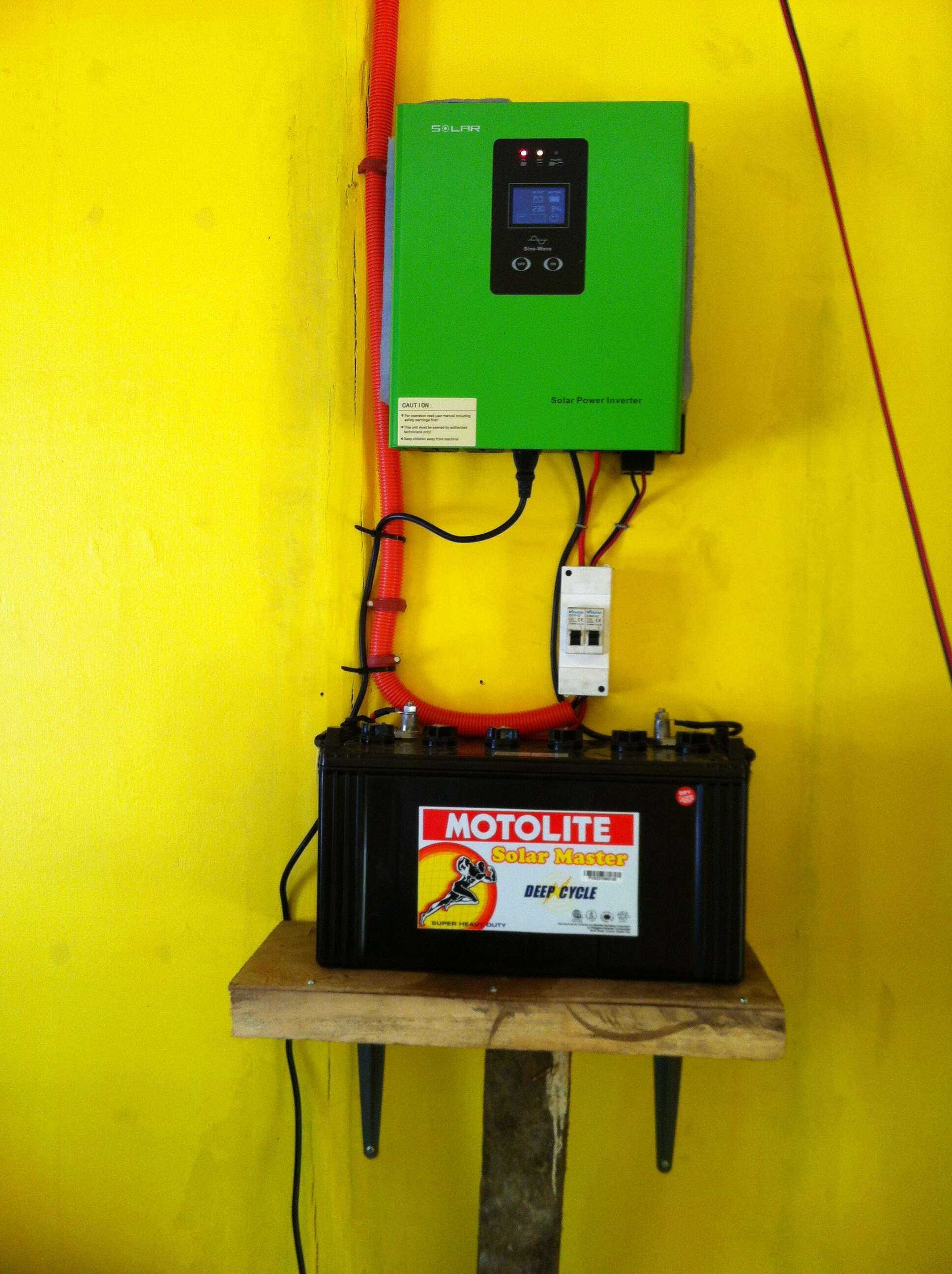 Solar Power Inverter Solar Energy System Dc To Ac Inverter
