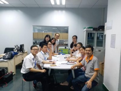 MUST ENERGY New Staffs training class finally ended at last week.