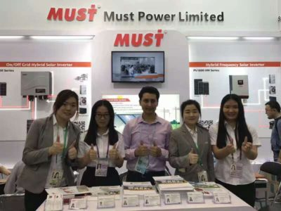 MUST ENERGY Celebrate the big program in 121st Canton Fair from 15th to 19th,April,2017
