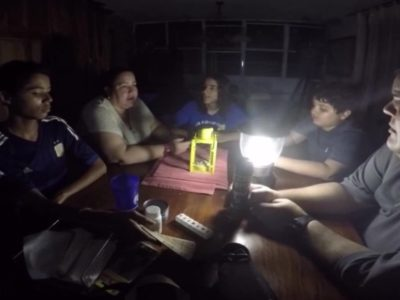 Most of Puerto Rico has been in the dark for 21 days since Hurricane Maria
