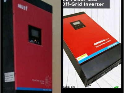 How to recognize Original Must brand solar Inverter?