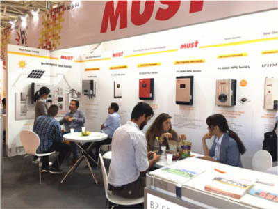 MUST ENERGY Attended InterSolar in Germany