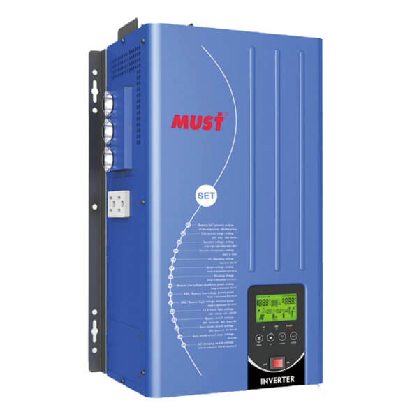 EP3300 TLV Series Low Frequnecy Pure Sine Wave Split Phase Inverter Charger (1-6KW)