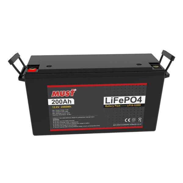 Lithium Iron Phosphate Battery LP15-12200 (12.8V/200Ah)