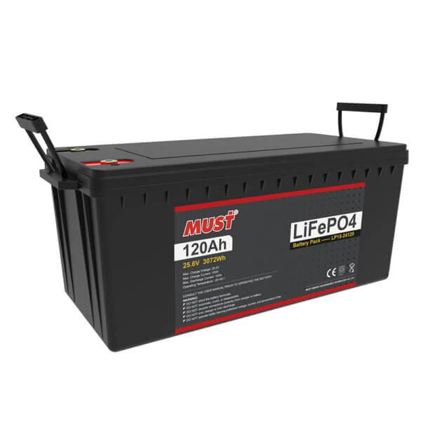 Lithium Iron Phosphate Battery LP15-24120 (25.6V/120Ah)