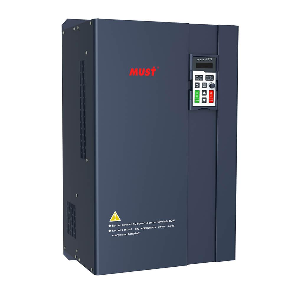 PT100 Series Solar Water Pump Inverter (1.5-55KW)