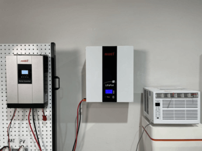 MUST Lithium battery production line overview and installation with inverter